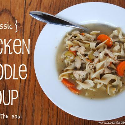 {Classic} Chicken Noodle Soup