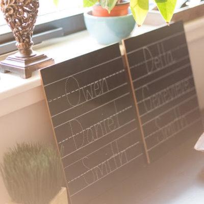Favorite Shop Friday: Chalk Full of Design