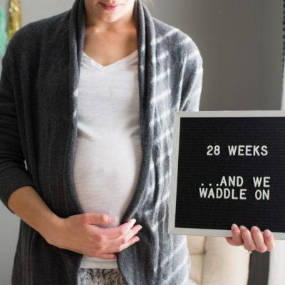 Baby Bumpdate | 28 weeks